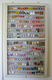 Jewelry Organizer Diy 24 Diy Earring Organizer Great Diy Jewelry Organizer Ideas For