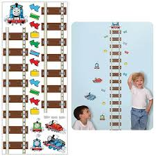 Thomas The Train Growth Chart Thomas And Friends Peel And Stick Growth Chart Wall Applique