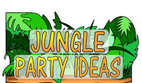 Jungle Theme Birthday Invitations Jungle Theme Party Games Activities