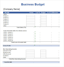 Business Budget Spreadsheet Free 5 Sample Budget Spreadsheets In Pdf Excel