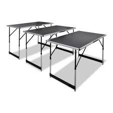 FAGINEY <b>Pasting Table 3</b> pcs Foldable Height Adjustable - Walmart ...