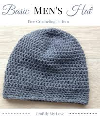 Mens Beanie Crochet Pattern Free