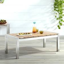 outdoor coffee table teak outdoor coffee table whitewash with design cast aluminum outdoor coffee table clearance