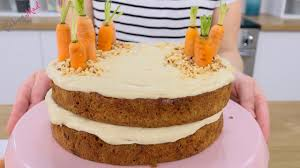 Carrot Cake Decoration Baking Mad Youtube