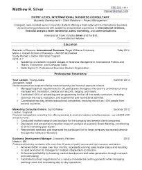 Sample Resume For University Students College Student Resume Sample
