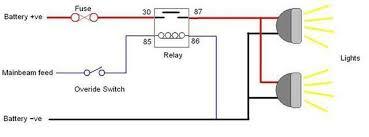 Headlights To Fog Light Relay Wiring Diagram Basic Fog Light Wiring Diagram
