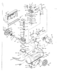 craftsman sears air compressor parts model sears find part by diagram >