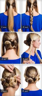 Wedding Hair Style Picture braids twists and buns 20 easy diy wedding hairstyles offbeat 4136 by wearticles.com