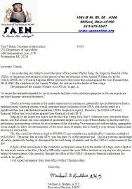 care of letter care research wellington co letter of complaint to usda 3 jun