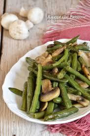 Fagiolini in padella con funghi champignon | Ricette, Ricette contorni,  Fagiolini