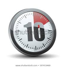 Timer 10 Minutes 10 Minutes Timer Stock Vector Royalty Free 197413469 Shutterstock