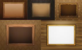 antique wood picture frames. Antique Wood Frame Vector Picture Frames