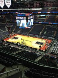 Capital One Arena Section 405 Row G Seat 1 Washington