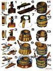 Как сделать деревянные бочки своими руками