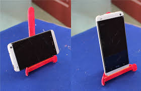 how to make a smartphone stand using popsicle sticks