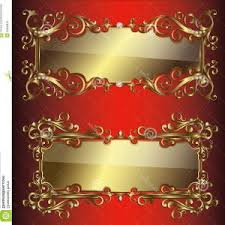 gold frame border design. Stock Illustration Vector Golden Frames Borders Design Labels Stick Gold  Frame Decorated Jewelry Decor Vintage Image Gold Frame Border Design