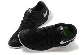 nike shoes white and black. nike free 5.0 men\u0027s running shoes black and white nk-01198
