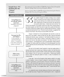 college essay example college essay example samples in word professionally writing college admissions essays yourself