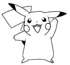 coloring pages pokemon pikachu coloring pages free printable page little bulk color x pixels for
