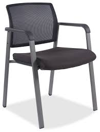 lorell stackable guest chair fabric black plastic seat black back office chairs black fabric plastic mesh ergonomic office