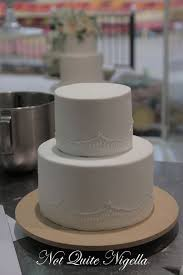 How To Make A Two Tier Wedding Cake With Faye Cahill At Not Quite