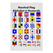 It was developed to put an end to confusion in telephone or radio conversations. Signal Flag Art Wall Decor Zazzle