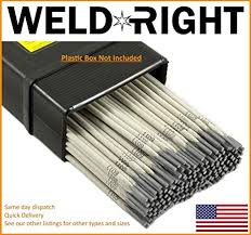 Stainless Steel Arc Welding Rod Chart Amazon Com Weld Right 309l 16 Stainless Steel Arc Welding