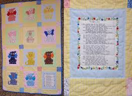 Baby Quilt - The Gingham Dog and the Calico Cat - w/Poem B… | Flickr & ... Baby Quilt - The Gingham Dog and the Calico Cat - w/Poem Block | Adamdwight.com