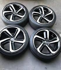 2018 honda accord sport black rims. 2018 19 Fits New Accord Sport Wheels Tires 19 Black Machine Rims Honda Acura Ebay