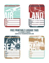 Printable Luggage Tags Cutest Printable Luggage Tags The Graphics Fairy