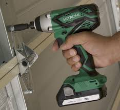 hitachi impact driver battery. review hitachi wh18dgl 1/4-inch 18v lithium ion cordless impact driver (includes two battery