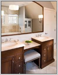 double sink vanity with makeup area. best 25 double sink vanity ideas on pinterest with makeup area n