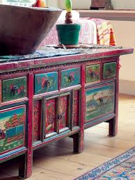 bohemian style furniture. Boho Painted Furniture More Bohemian Style And