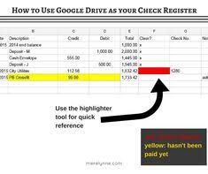 43 Best Check Register Images Accounting Business Accounting