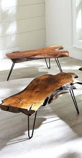 table coffee table raw wood unfinished round base fabulous breathtaking images design edge top