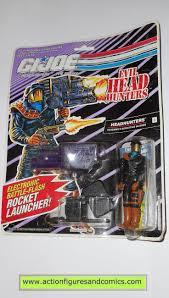 gi joe HEADHUNTERS 1992 DEF vintage action figures hasbro toys moc mip mib  8113