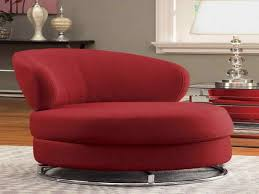 Contemporary And Wonderful White Swivel Chairs With Arm That Also Contemporary Red Chair