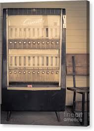 Vintage Cigarette Vending Machine Amazing Cigarette Vending Machine Canvas Prints Fine Art America