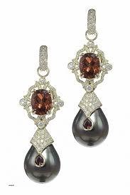 pearl and diamond chandelier earrings unique 18k gold and diamond garnet pearl drop earrings by erica