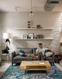 11 coolest interior brick wall paint