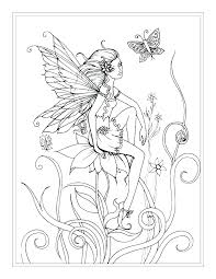 fairy color pages anime fairy coloring pages tail color plus tale printable