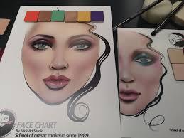 Face Chart Grande Din A4 21 X 29 Cm