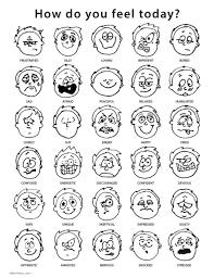 Feelings Chart By Ellie Peters Via Behance Feelings Chart
