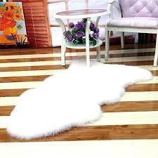 faux fur area rug faux fur rug ikea