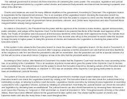 dbq example example of an informal essay informal letter essay 19 sample dbq essays dbq seperation of powers at com