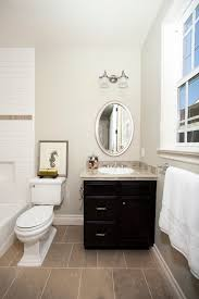 european bathroom vanities. Traditional Style Bathroom Vanity Small And Black Finishing Cabinets White Single Sink Oval Shaped Mirror European Vanities