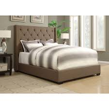 Taupe Bedroom Pulaski Furniture Shelter Taupe Queen Upholstered Bed Ds 1927 250