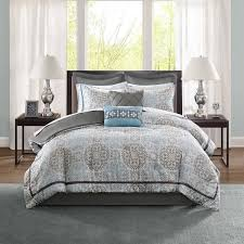 madison park bedding. Simple Bedding Madison Park Kerry Blue 12piece Bed In A Bag With Sheet Set And Euro For Bedding Y
