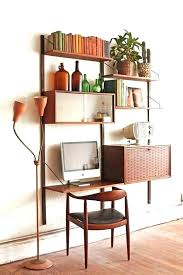 minimal float wall desk posh floating wall desk images plans unit danish mid century modular system
