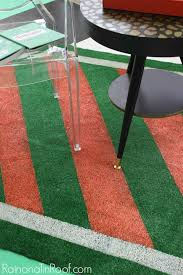 diy painted astroturf rug perfect for summer events intended astro turf decor 11